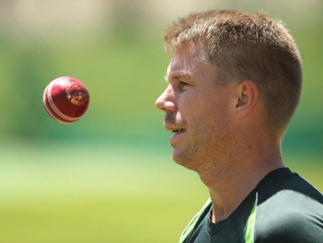 Australia struggle despite Warner's century